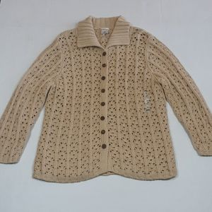 NWT Old Navy crochet sweater womens XL